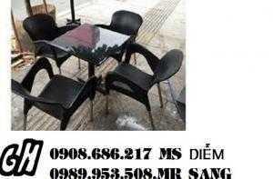 Bàn ghế cafe giá rẻ hgh052