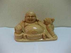 Đức Phật Di Lặc - Gỗ Pơ Mu Phật Di Lặc