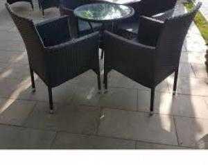 Bàn ghế cafe mây nhựa giá rẻ nhất hgh072