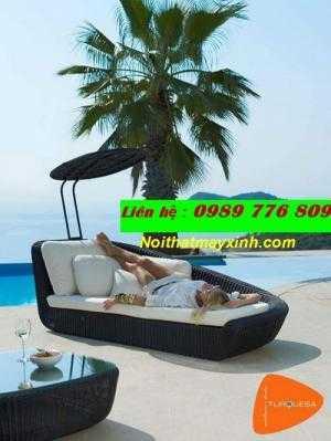 S.Xuất Ghế Hồ Bơi Giả Mây Bền ,Đẹp Cho Các Khách Sạn, Resort