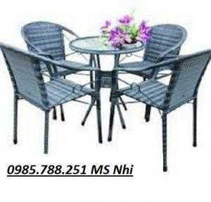 Bàn ghế cafe hgh 85
