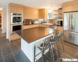 Tủ bếp gỗ Laminate thiết kế hiện đại sang trọng – TBT105