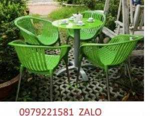Bàn ghế thúng giá siêu rẻ
