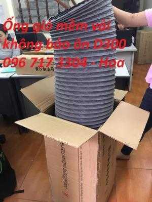 Nhà sản xuất ống gió mềm vải hút khí hút bụi D300, D350, D400, D450, D500