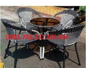 Chuyên sản xuất bàn ghế cafe sân vườn