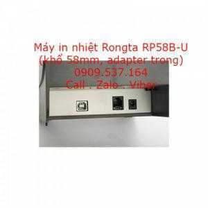 Máy in nhiệt Rongta RP58B-U (khổ 58mm, adapter trong)