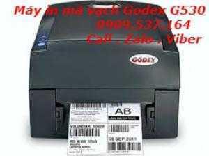 Máy in mã vạch Godex G530 (300 dpi).