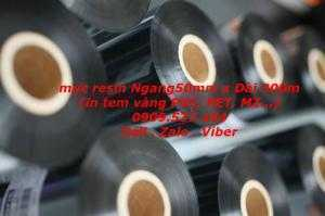 mực resin 50mm x 300m (in tem vàng PVC, PET, MZ...)