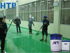 Nhà phân phối sơn epoxy tự san phẳng cho nền bê tông chính hãng giá rẻ tại tphcm