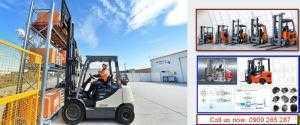 Dạy học lái xe nâng hàng Vsip Bến Cát Dĩ An Bình Dương