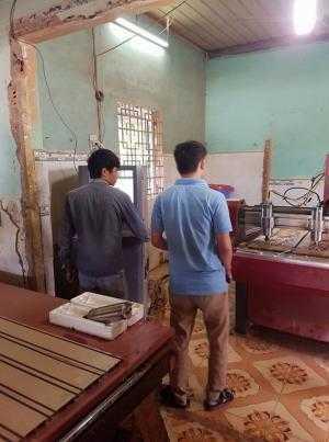 Sửa máy điêu khắc gỗ vi tính tại Đồng Nai