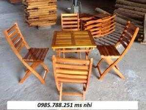Bộ bàn ghế gỗ rẻ nhất