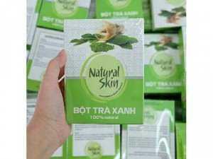 Bột trà xanh Natural Skin