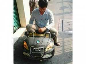 Sửa chữa xe điện trẻ em