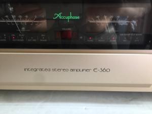 Ampli Accuphase E360 hàng bãi tuyển chọn về, đẹp long lanh