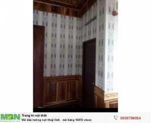 Vải dán tường sợi thuỷ tinh - mã hàng 16876 vison