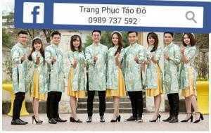 Nhận may sỉ trang phục áo dài giá rẻ