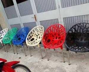 Ghế nhựa đúc mẫu mới giá rẻ bán gá tại cty