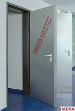 Cty Kingdoor Chuyên sx - lắp đặt tận nơi các loại cửa thép thoát hiểm kích thước theo yêu cầu