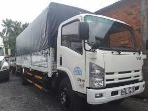 Xe tải Isuzu VM 8t2  thùng mui bạt , thủ tục  vay trả nhanh, vay tới 90% giá trị xe