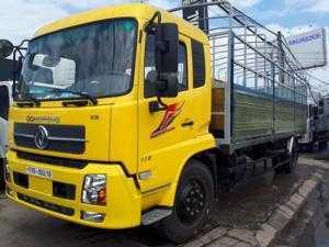 Xe tải Dongfeng Hoàng Huy B170 9.35 tấn/9T35/9.35T thùng dài 7.5 mét động cơ CUMMINS B170 nhập khẩu nguyên chiếc mới 100%.