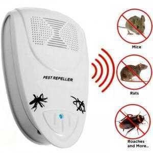 Máy đuổi côn trùng, máy đuổi chuột bằng sóng siêu âm