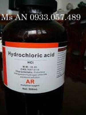 Hóa Chất Thí Nghiệm Hydrochloric Acid 37%