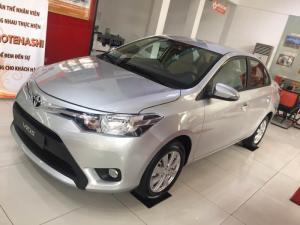 Toyota Vios 1.5e Số Tự Động Màu Bạc Giao Ngay Khuyến Mãi Tốt