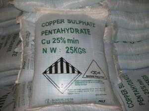 Nguyên liệu Đồng sulphate CuSO4, Magie Clorua MgCl2, Calci clorua CaCl2 dùng trong thủy sản