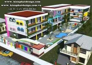 Thiết kế mẫu trường học