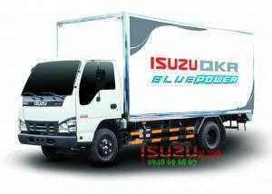Xe tải Isuzu 1T9 2T2 2T8 thùng mui bạt, thùng kín động cơ Euro4