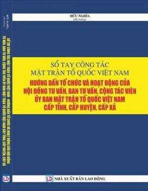 sổ tay công tác mặt trận tổ quốc Việt Nam