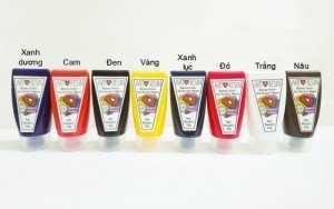Bộ 7 màu dùng pha với Epoxy Resin 350g, Bền Màu Chống Vàng Nhựa - MSN388339