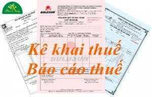 Dịch vụ báo cáo thuế hàng tháng quý năm