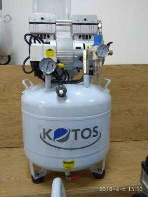Máy nén khí không dầu dùng cho nha khoa 1 ghế