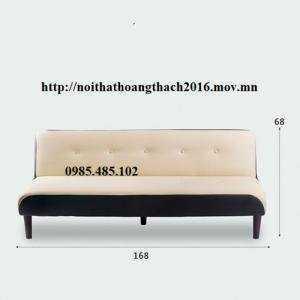 Sofa bed 2 trong 1 màu trắng  giá rẻ tại HCM/ Nội Thất Hoàng Thạch