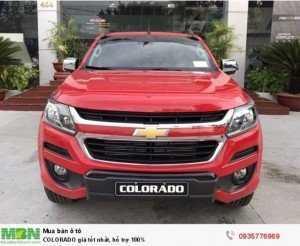 Chevrolet COLORADO nhập khẩu Thái Lan- giá tốt nhất giảm tới 50tr vay 100% với lãi suất ưu đãi