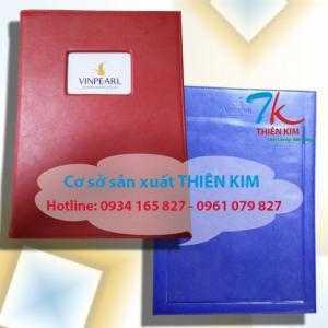 Chuyên cung cấp cuốn menu, nơi làm bìa da nhà hàng, địa chỉ làm bìa kẹp tiền, nơi cung cấp bìa menu