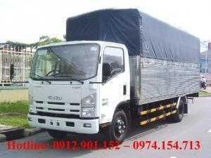 Cần bán xe tải Isuzu chính hãng 5 tấn thùng dài 6.2 mét