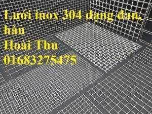 Chuyên cung cấp lưới inox dây đan, dây hàn inox 304, 201, 316