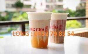Ly nhựa PP 500ml giá rẻ, in logo ly nhựa trà sữa