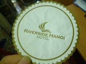Lót ly (cốc) in logo nhận diện thương hiệu cao cấp nhà hàng, khách sạn, resort
