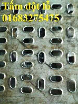 Tấm đột lỗ inox 304, inox 201, inox 316 dùng làm sàn thao tác, hàng rào, trang trí...