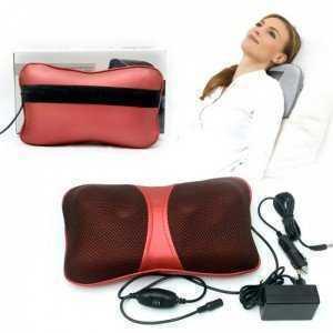 Gối Massage Hồng Ngoại Magic Energy 4 bi cao cấp - Giúp bạn massage, thư giãn,giảm đau mỏi - MSN383141