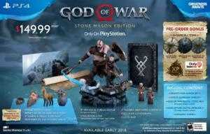 Đĩa game  God of War 4 US