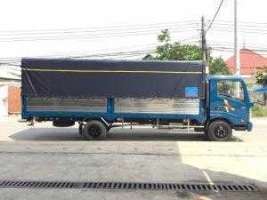Hyundai Veam 3,5 tấn thùng 6,1m chở hàng cồng kềnh