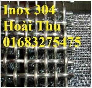 Lưới inox 304, lưới inox 201, lưới inox 316 chuyên chống côn trùng, sàn lọc thực phẩm, hàng rào