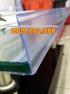 Nẹp nhựa hiển thị bảng giá