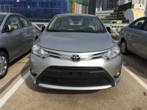 Bán xe Toyota Vios 2018 số sàn màu bạc, hổ trợ đăng ký Grab, tài trợ vay 80%, giá cạnh tranh