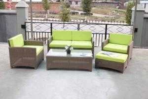 Sofa mây cafe phòng lạnh giá rẻ